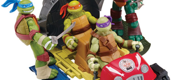 Nickelodeon Teenage Mutant Ninja Turtles T-Rawket