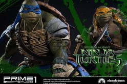 Prime 1 Studio Teenage Mutant Ninja Turtles Michelangelo Statue