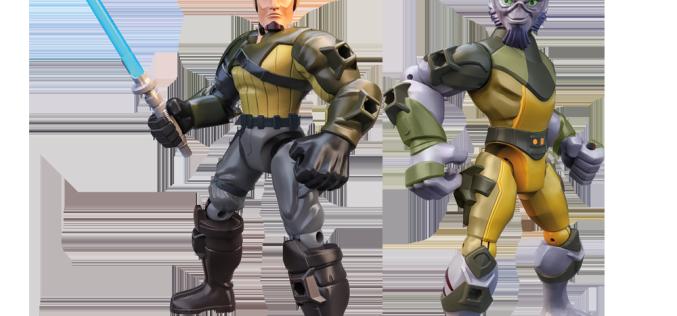 Hasbro's Jurassic Park & Star Wars Rebels Hero Mashers Figures Coming 2015