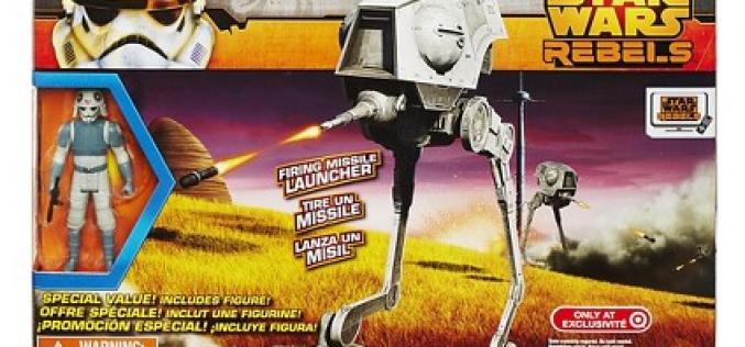 Star Wars Rebels Target Exclusive AT-DP Vehicle & Driver Figure