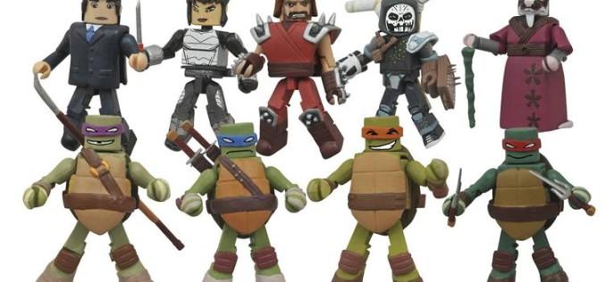 DST Teenage Mutant Ninja Turtles Minimates Series 2 Revealed