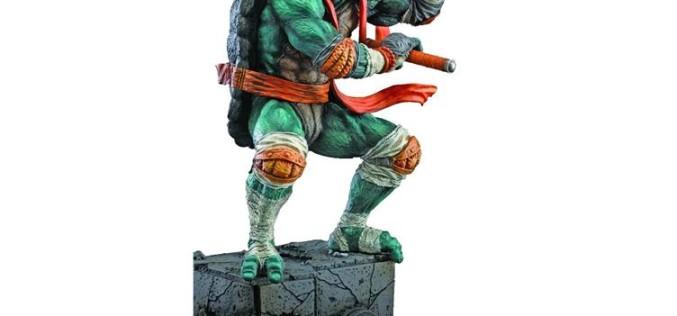 Teenage Mutant Ninja Turtles PVC Statue – Michelangelo