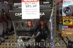 "Toys ""R"" Us BOGO Sale On Marvel Legends Captain America Infinite Series"