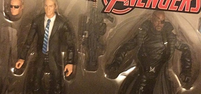 """Toys """"R"""" Us Exclusive Marvel Legends 3-Pack With Maria Hill, Agent Coulson, & Nick Fury Coming 2015"""