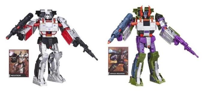 Transformers Generations Leader Combiner Wars 2015 Series 1 – G1 Megatron & Armada Megatron