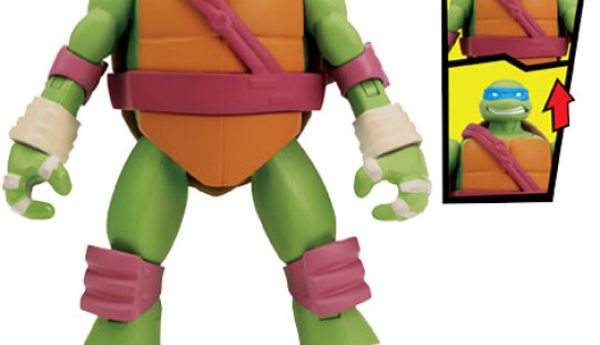 Playmates Toys Teenage Mutant Ninja Turtles Head Dippin' Turtles Official Press Images