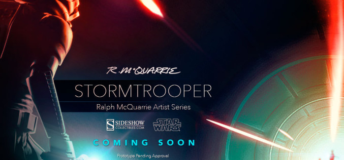 Stormtrooper Statue – Ralph McQuarrie Artist Series Preview