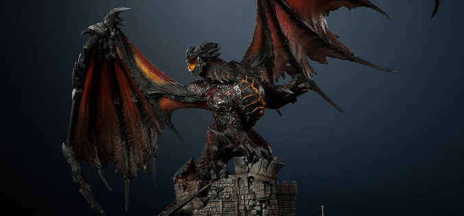 World Of Warcraft Deathwing Polystone Statue Pre-Orders