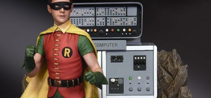 DC Comics Robin The Boy Wonder Maquette Diorama Pre-Orders From Sideshow