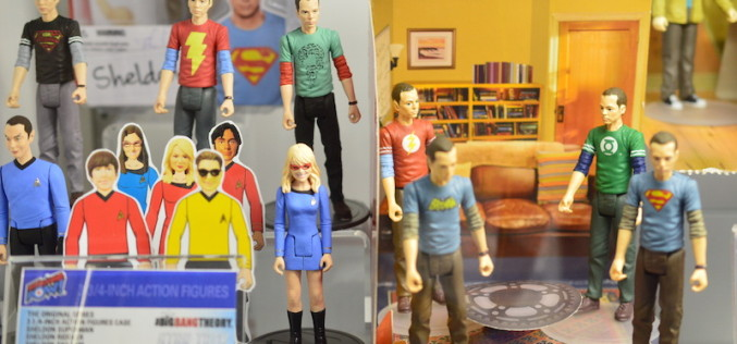 NYTF 2015 – Entertainment Earth Shows Off Big Bang Theory Action Figures