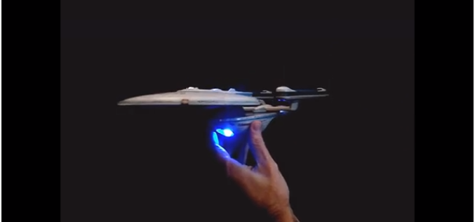 Diamond Select Toys Update: U.S.S. Excelsior NX-2000 Lights & Sound Test