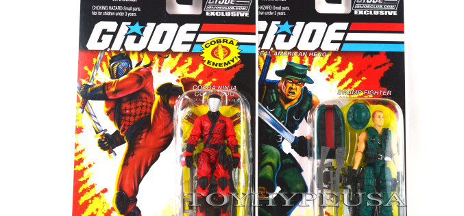 G.I. Joe Collectors' Club Figure Subscription Service 3.0 Wave 2 Cobra Slice & Muskrat Now Shipping