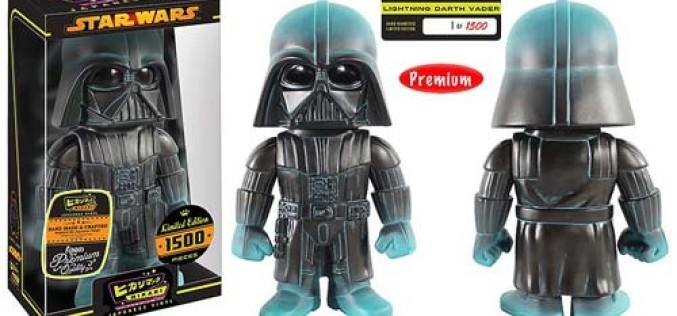 Funko Announces Star Wars Darth Vader Lightning Premium Hikari Sofubi Vinyl Figure