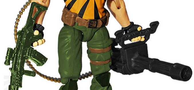 G.I. JoeCon 2015 Tiger Force Heavy Weapons: Big Brawler Figure Revealed