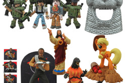 Diamond Select Toys Now in Stores: Lt. Worf, Buddy Christ, Godzilla, Aliens & My Little Pony