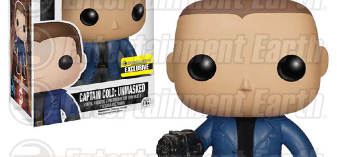 Flash TV Series Captain Cold Unmasked Pop! Vinyl Figure – Entertainment Earth Exclusive