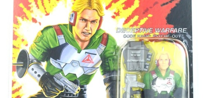 G.I. Joe Collectors' Club Figure Subscription Service 3.0 Phyche-Out Review