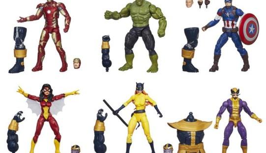 Hasbro Marvel Legends Avengers Infinite Series In Stock At Amazon