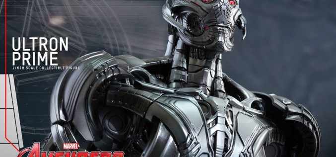 Hot Toys Avengers Ultron Prime Sixth Scale Figure Announced