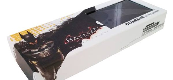 Icon Heroes Arkham Knight Batarang Letter Opener Packaged Pictures