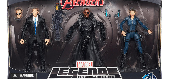 "Hasbro Avengers Marvel Legends Agents Of Shield 3-Pack In Stock At Toys ""R"" Us"