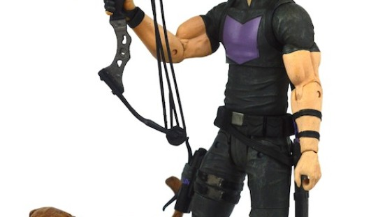 Marvel Select Marvel Shop Exclusive Avenging Hawkeye Review