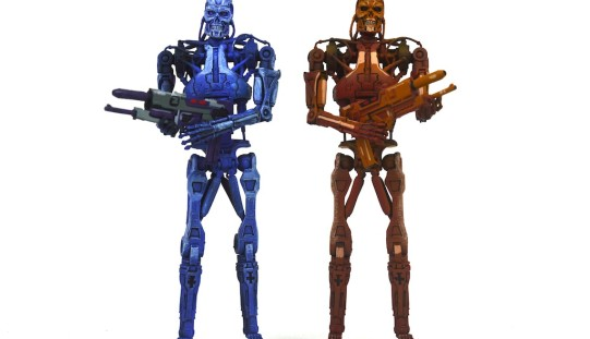 "NECA Robocop Vs. The Terminator Toys ""R"" Us Exclusive Endoskeleton Assault 2-Pack Review"