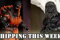 NECA Shipping This Week: 1995 Burning Godzilla And Planet Of The Apes Clothed Gorilla Soldier