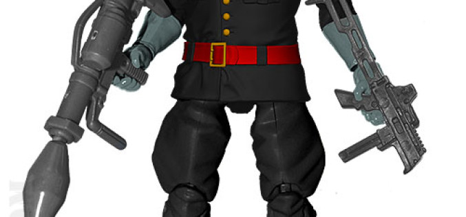 G.I. JoeCon 2015 Iron Grenadiers Infantry Commander: General Mayham Figure Revealed