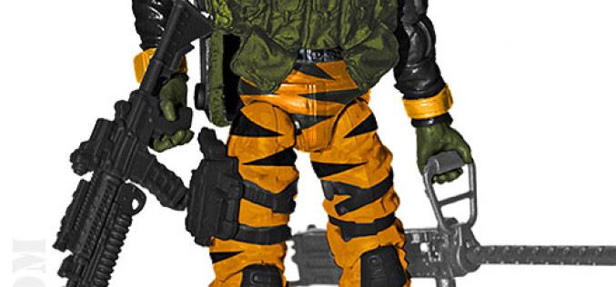 G.I. JoeCon 2015 Tiger Force Ranger: SGT. Stalker Figure Revealed