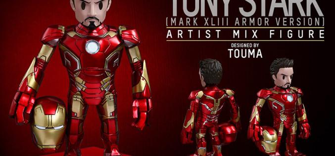 Hot Toys Tony Stark Mark XLIII Armor Version – Artist Mix Collectible Figure