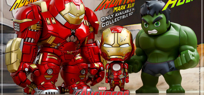 Hot Toys Avengers Age Of Ultron Collectible Set