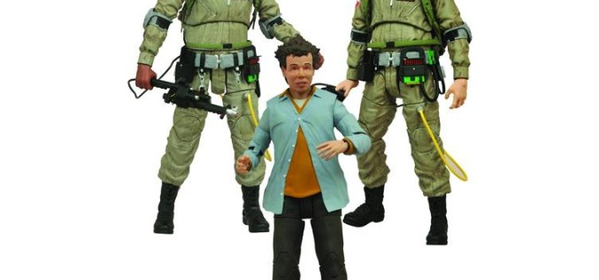 DST Ghostbusters Select Series 1 Winston Zeddemore, Ray Stanz, & Louis Tully