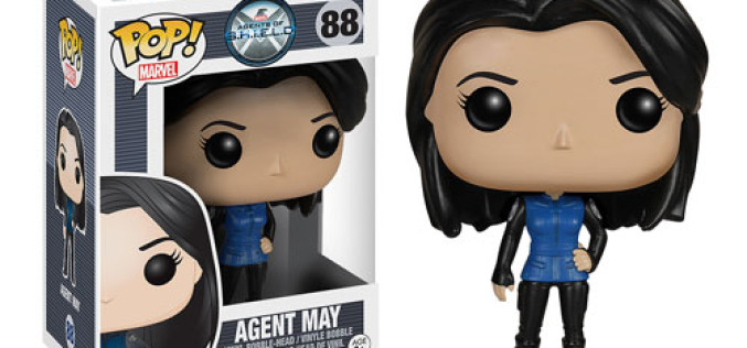 Agents Of Shield Agent Melinda May Pop! Vinyl Figure Bobble Head Available Now