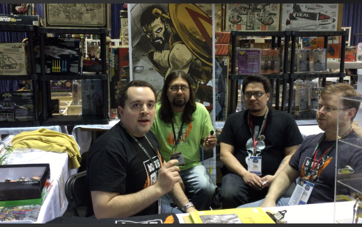 G.I. JoeCon 2015 – Boss Fight Studio Video Interview