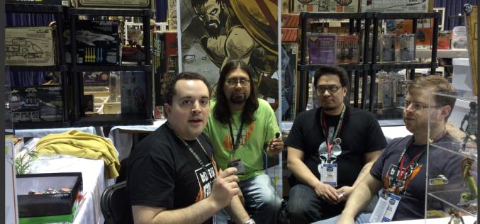 G.I. JoeCon 2015 – Boss Fight Studio Video Interview