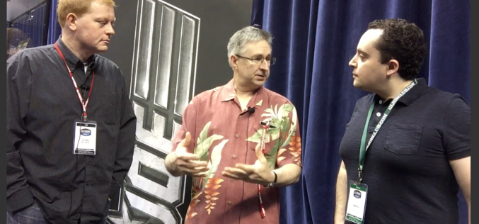 G.I. JoeCon 2015 – Hasbro Video Interview With Mark Weber & Derryl Depriest