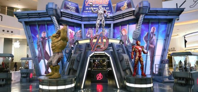 Hot Toys Avengers: Age Of Ultron Exhibition In Hong Kong Begins