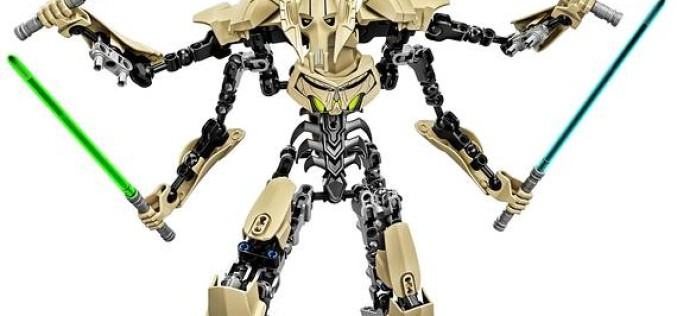 Lego Reveals Star Wars Buildable Figures Of Obi-Wan Kenobi & General Grievous