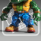 Loyal Subjects Action Vinyls TMNT Series 2 Leatherhead Figure Preview