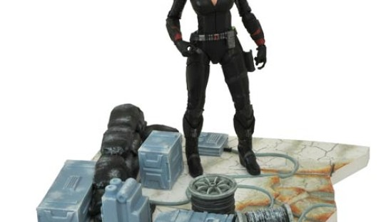 Marvel Select Avengers: Age of Ultron Black Widow Action Figure Revealed