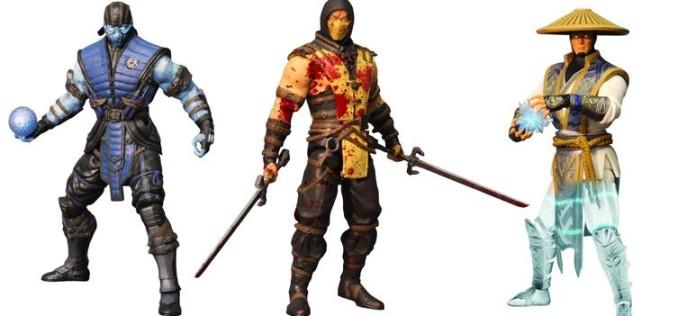 Mezco Toyz Previews Exclusive Mortal Kombat X 6″ Figures Series 1