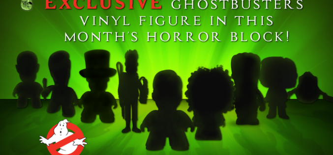 Nerd Block Ghostbusters Exclusive Vinyl Figure In The April Horror Block (Update)