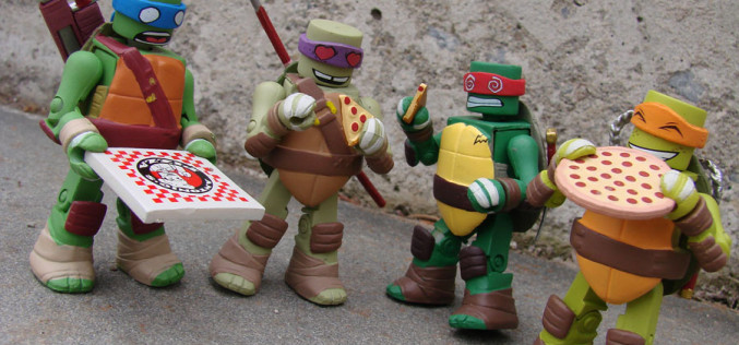 Diamond Select Toys Shipping This Week – TMNT Minimates Series 2, Pathfinder Bank & The Enterprise-A