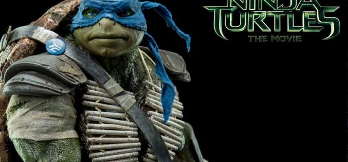 Teenage Mutant Ninja Turtles Movie Leonardo & Michelangelo Sixth Scale Figures