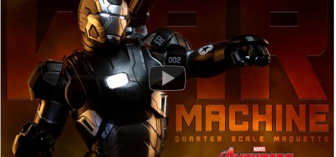 War Machine Quarter Scale Maquette Video Preview