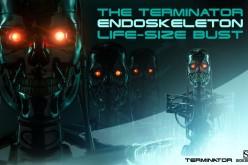The Terminator Endoskeleton Life-Size Bust Preview