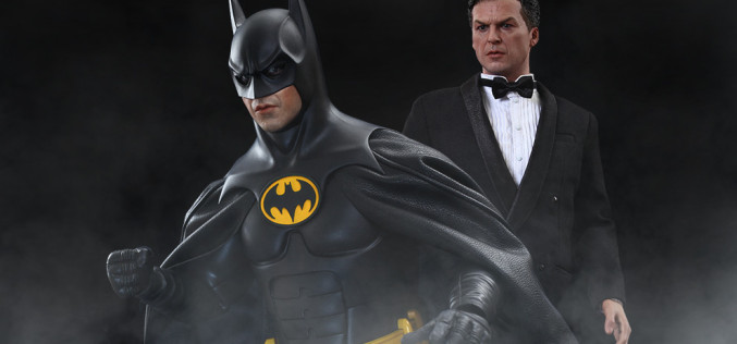 Hot Toys Batman And Bruce Wayne Sixth Scale Figure Set Pre-Orders