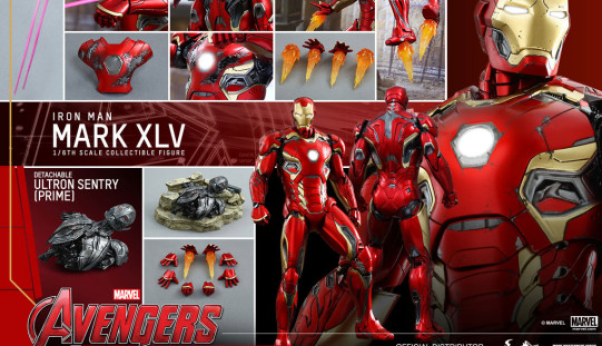 Hot Toys Iron Man Mark XLV Sixth Scale Figure Pre-Orders