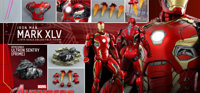 Hot Toys Iron Man Mark XLV Sixth Scale Figure Pre-Orders
